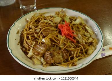 Japanese delicious yakisoba