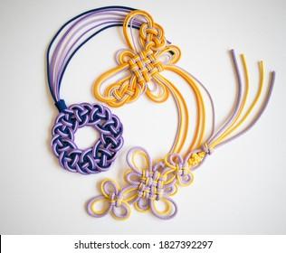 Japanese Design Knot, Himo Musubi