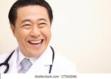 Japanese Doctor portrait