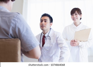 Japanese doctor to work