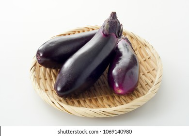 Japanese egg plants.