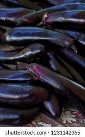 Japanese Eggplant Farmer's Market