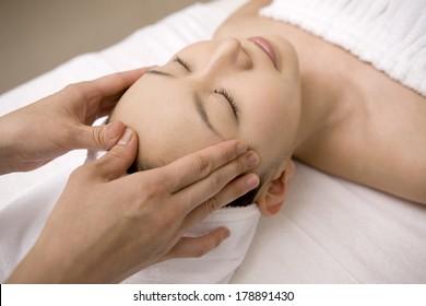 Japanese Face beauty treatment