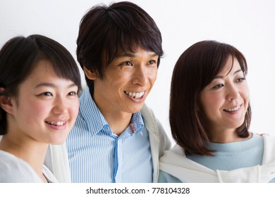 Japanese family portrait
