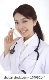 Japanese Female doctor image