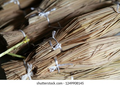 Japanese fermented soybeans wrapped by straw