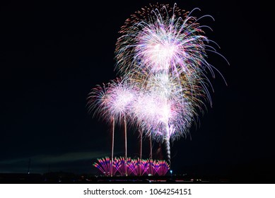 Japanese Fireworks Contest