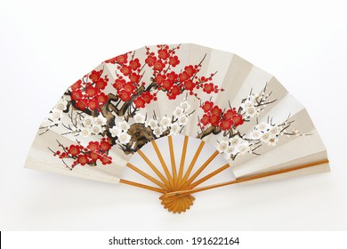 Japanese folding fan dance