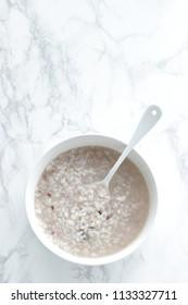 Japanese food, 16 types of grain congee for heathy breakfast image