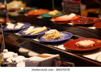 Japanese food belt.