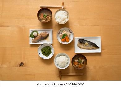 Japanese food, breakfast,