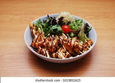 Japanese food - chicken karage