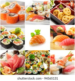 Japanese Food Collage