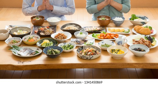 Japanese food, couple,