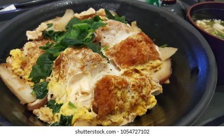 Japanese food donburi