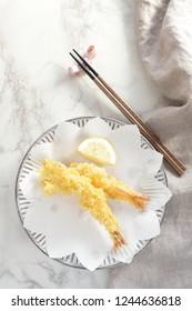 Japanese food, Ebi Tempura Prawn deep fried