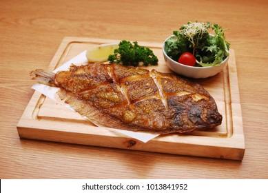 Japanese food - grilled flounder