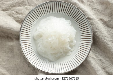 Japanese food ingredient, Shirataki Konjac noodles
