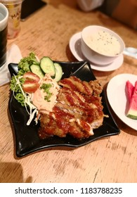 Japanese Food Katsu