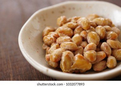Japanese food natto