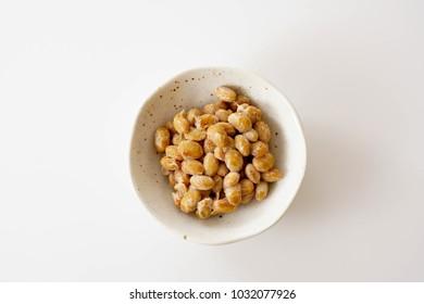Japanese food natto