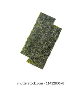 Japanese food nori dry seaweed or edible seaweed
