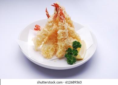 Japanese food - prawn tempura
