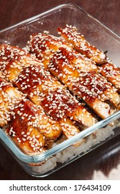 japanese food roast eel ( unagi )
