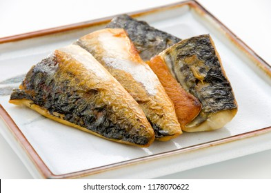 Japanese food, Saba no shioyaki, Salt-grilled Mackerel