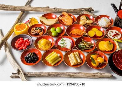 Japanese food set(osechi)