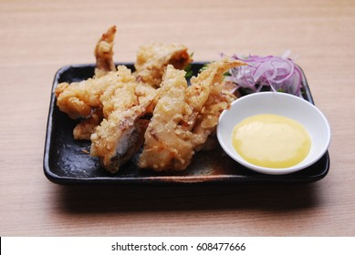 Japanese food - Soft shell crab