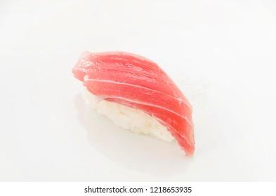 Japanese food tuna sushi