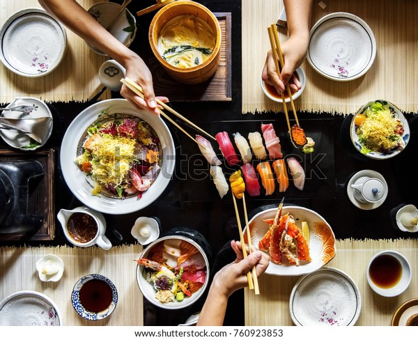 Japanese food variety