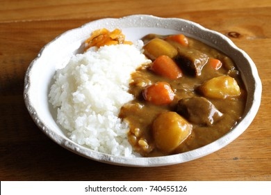 Japanese food,Curry and rice