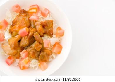 Japanese food,Karaagedon,Karaage,Fried chicken japanese style