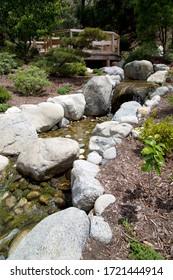 Japanese friendship garden at Balboa park,  San Diego CA USA July 2019.