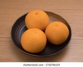 Japanese fruit named Kiyomi Orange