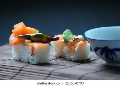 Japanese fusion food