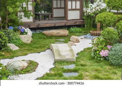 Japanese Style Landscaping Images Stock Photos Vectors