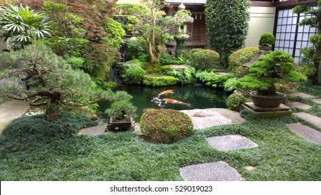 Japanese Garden Pond Images Stock Photos Vectors Shutterstock