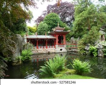 Japanese Garden at Biddulph Grange, Staffordshire, England