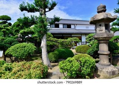 Japanese Garden Cosmos Temple