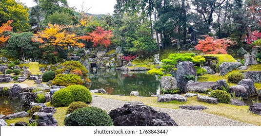 Japanese garden at Daigoji temple.