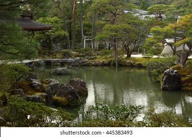 Japanese garden (Ginkaku-ji)