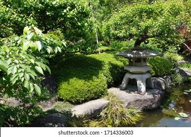 Japanese Garden at Kamakura Japan