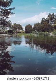 Japanese Garden at Margaret Island in Budapest