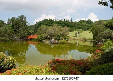 Japanese garden, Santo Domingo
