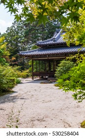 Japanese garden and trendy areas of garden art in Nanzen-ji Templem, Kyoto Japan