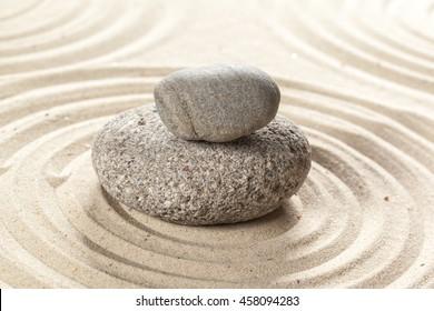 japanese garden zen stone