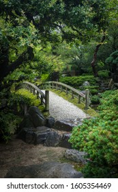 Japanese Gardens in Kyoto, Japan